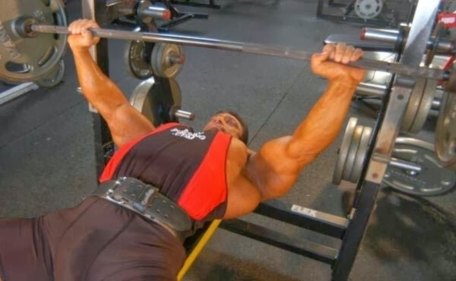 Bench Press Process For Body Building