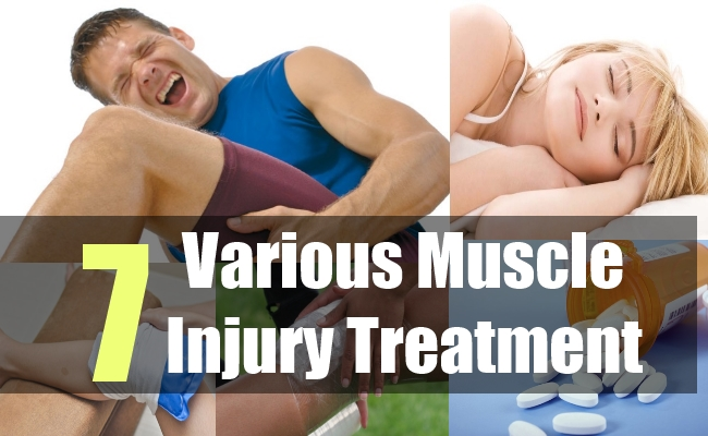 7 Various Muscle Injury Treatment