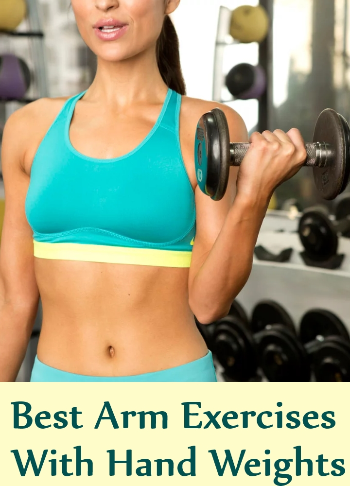 Best Arm Exercises With Hand Weights
