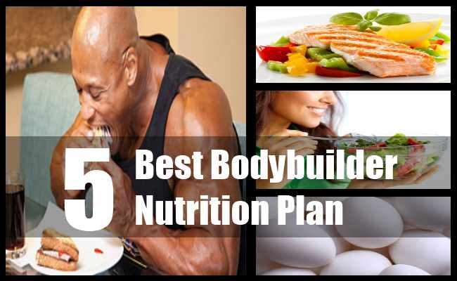 Bodybuilder Nutrition Plan