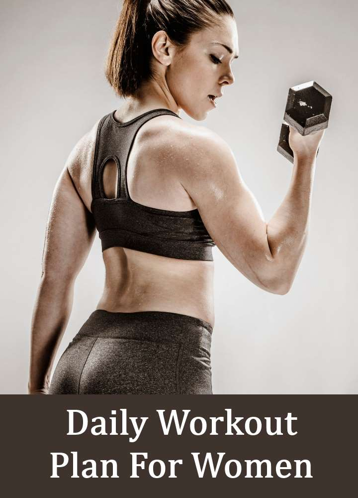 Daily Workout Plan For Women