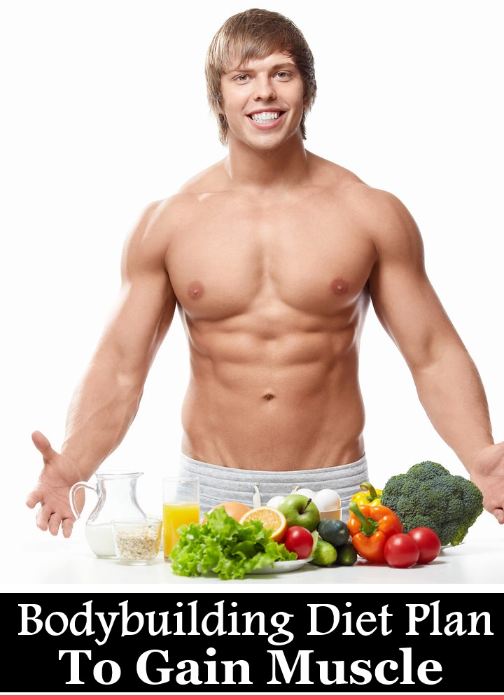 5 Natural Bodybuilding Diet Plan To Gain Muscle