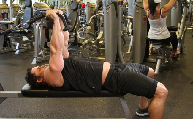 Cable Extensions Workout : Top triceps extension exercises best