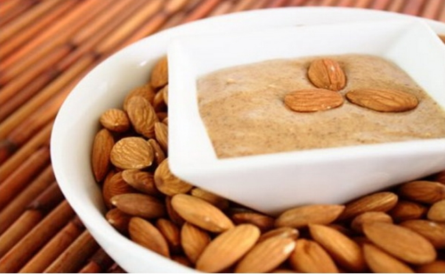 Almond Butter and Almonds
