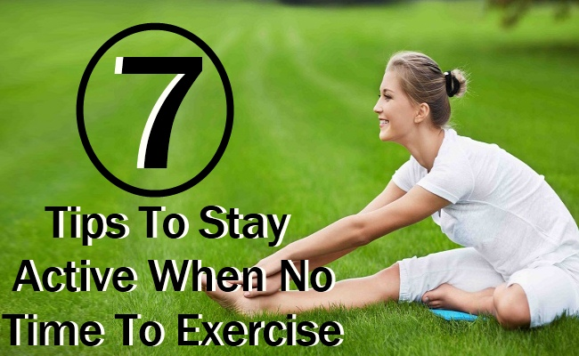 When No Time To Exercise