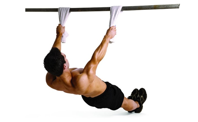 Towel Grip Pull Up