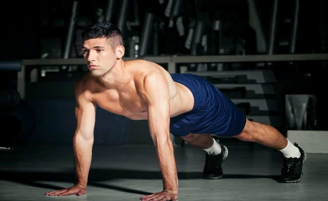 Isometric Push-Ups