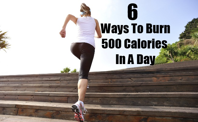 Ways To Burn 500 Calories In A Day