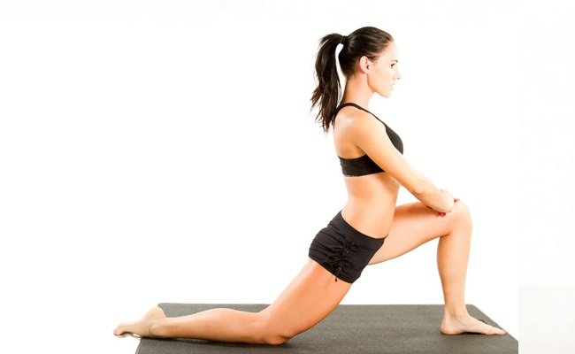 Lunge Stretching And Pulsing