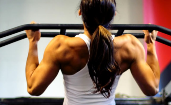 Pull Ups With Palms Facing Each Other