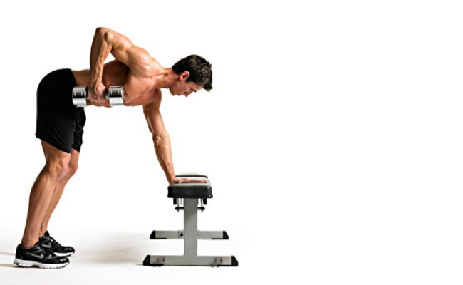 5 Types Of One Arm Dumbbell Rows Along With Its Benefits ...