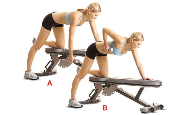 Single Arm Dumbbell Row