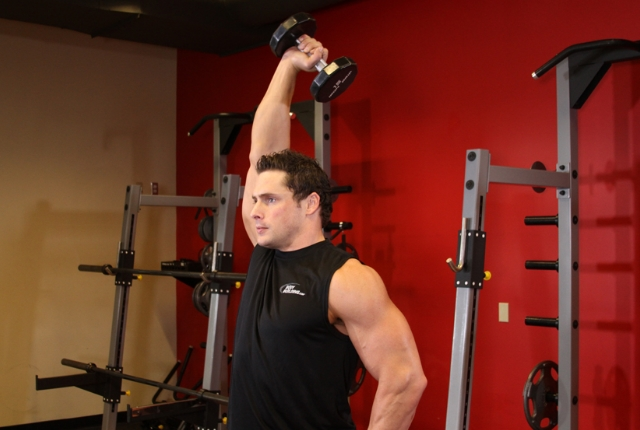 Overhead Lateral Triceps Extension