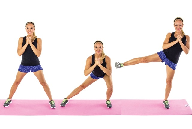 Lateral Lunge Side Kick