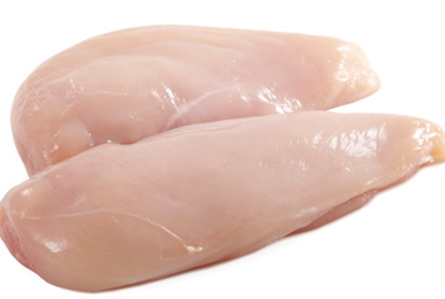 skinless chicken