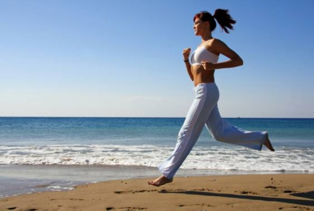 Running On Sand Or Soft Grass