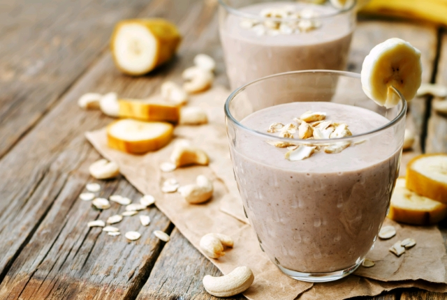 Oats and Cocoa Smoothie