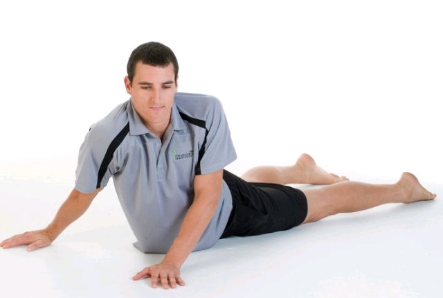 Rotating Stomach Stretch