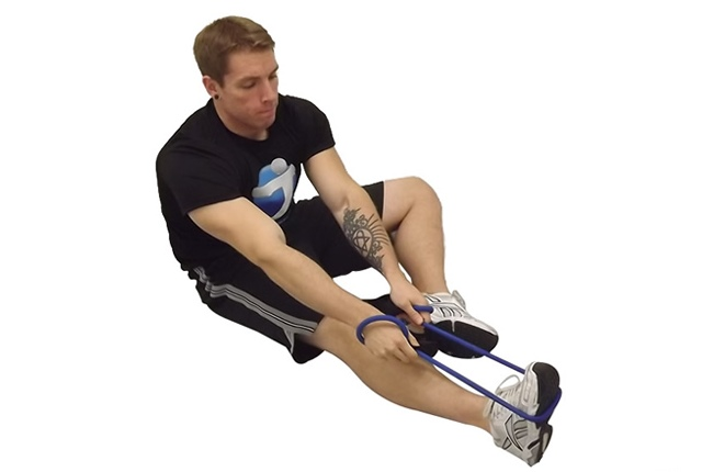 Hamstring And Calf Stretch