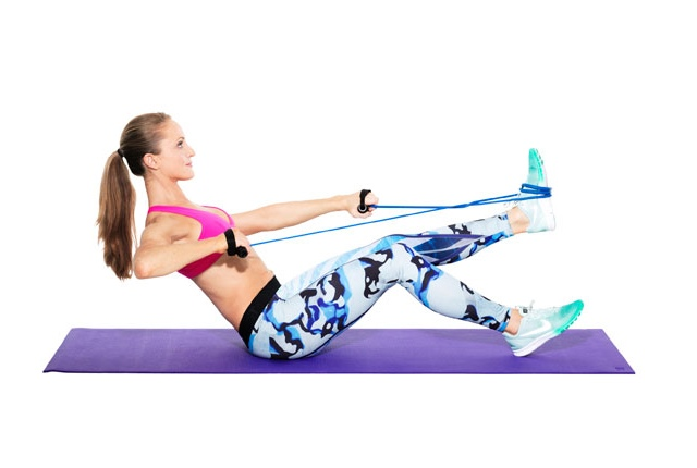 Leg Rows With Band