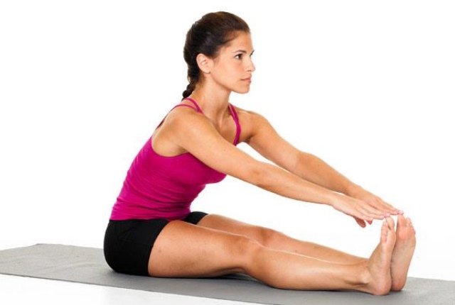 Seated Static Stretch
