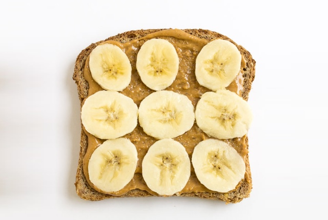 Whole Wheat Toast And Banana