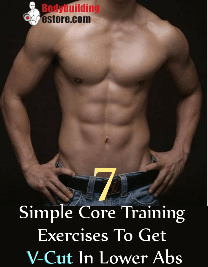 Simple Core Training Exercises To Get V-Cut In Lower Abs