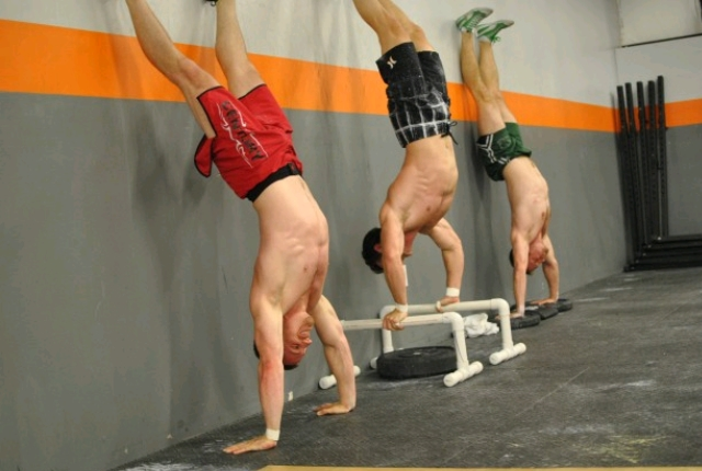 Headstand Pushups