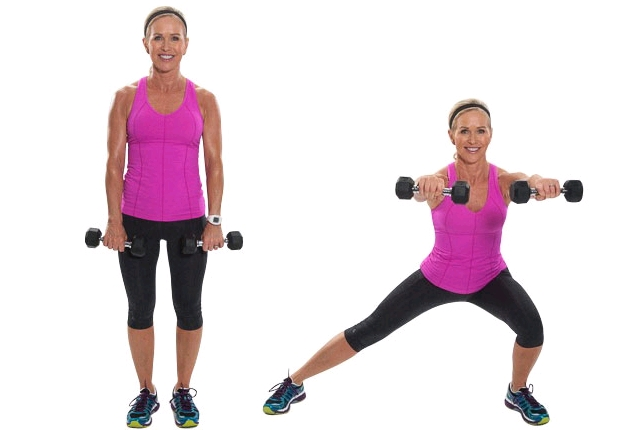 Front To Lateral Raise: