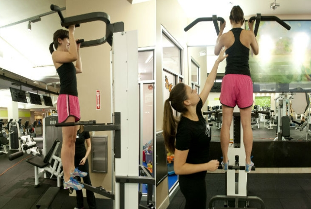 Assisted Pullups