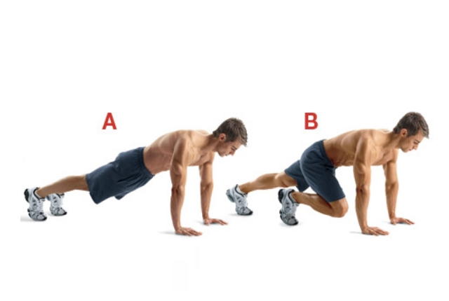 Regular Mountain Climber Exercise