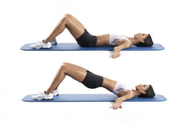 Lying Hip Extension