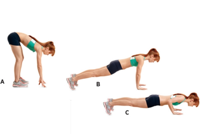Inchworm To Push-Up