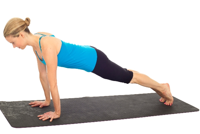 Plank To The Pushup
