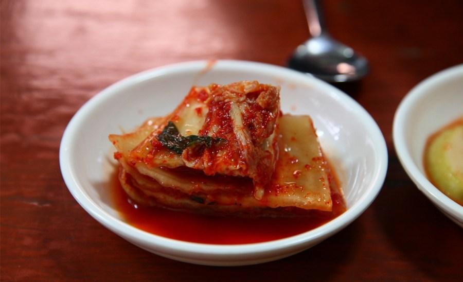 Kimchi helps decrease sugary cravings