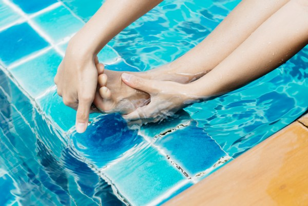 cramps while swimming