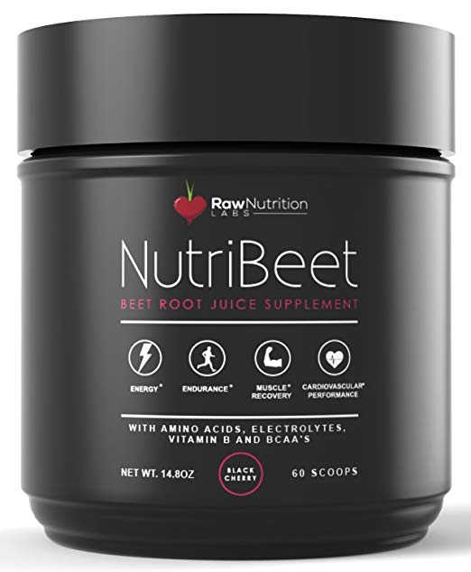 Raw Nutrition Labs NutriBeet Nitric Oxide Optimizer