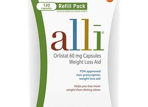 Alli Diet Pills for Weight Loss, Orlistat 60 mg