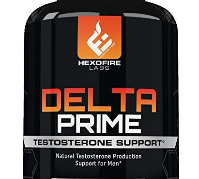 Delta Prime Testosterone Production Support