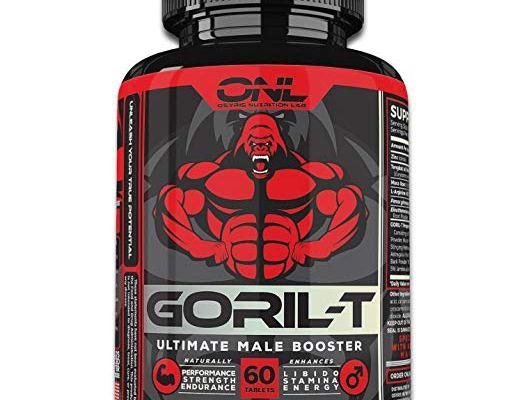 GORIL-T Men's Testosterone Booster