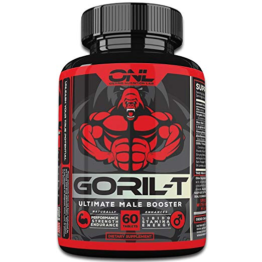 GORIL-T Men's Testosterone Booster