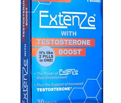 ExtenZe with Testosterone Boost 30ct – Will This Boost Your Testosterone?