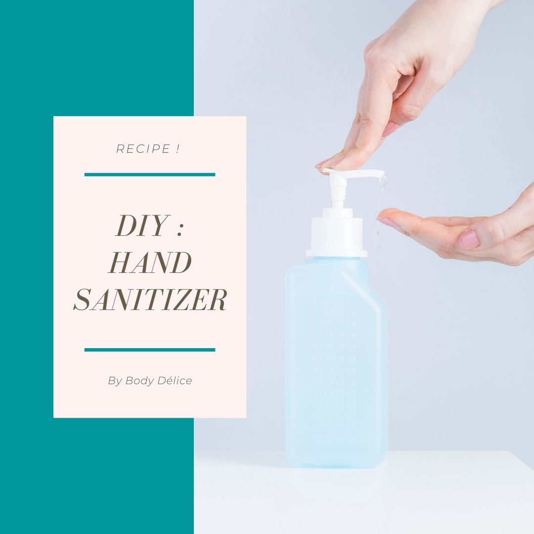 DIY : hand sanitizer