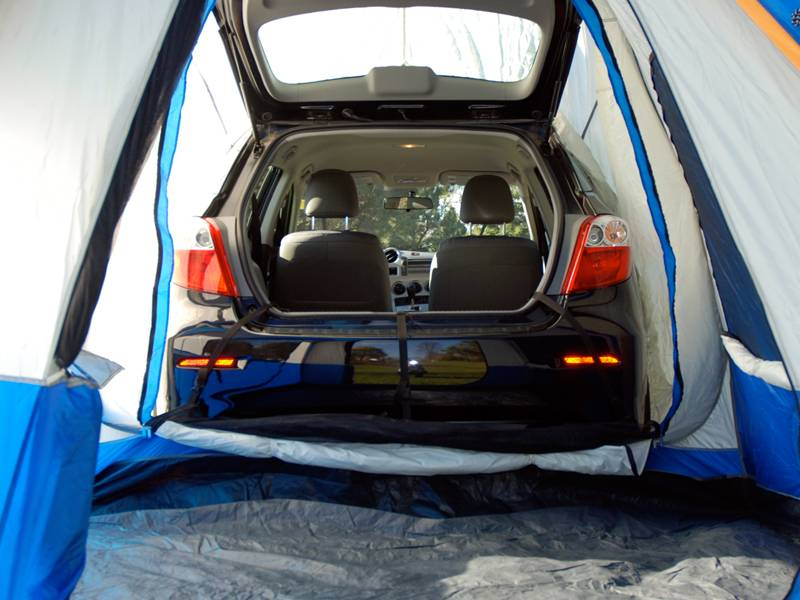 Both of these vehicles offe. Hyundai Accent Napier Sportz Dome-To-Go Truck Tent - 86000