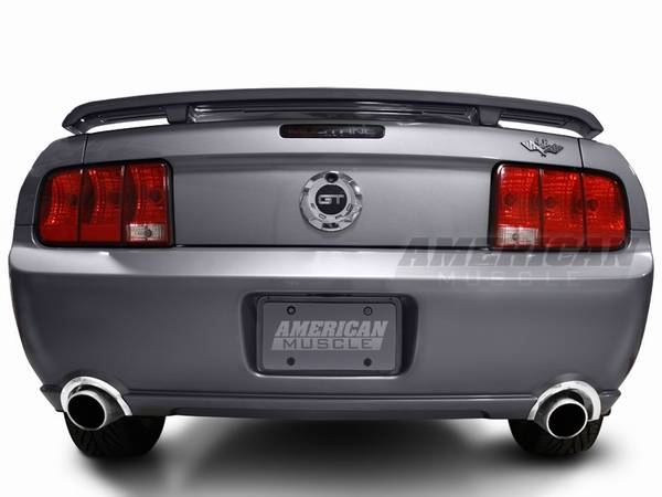 ford mustang polished rear valance