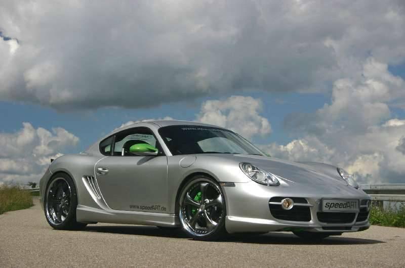 Porsche Cayman SAR Aero Kit