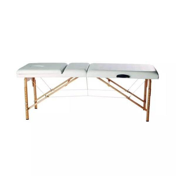 Affinity Portable Flexible Massage Table - White