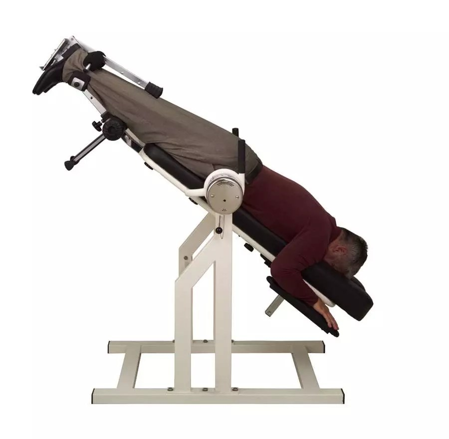 Teeter DFM Inversion Table - Prone Postion