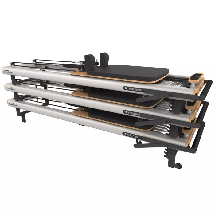 Pilates Fit Reformer - stackable