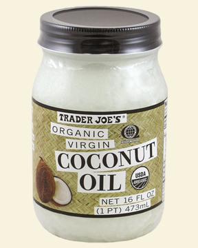 Trader Joe's Organic, Virgin and affordable coconut oil